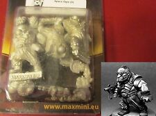 MAXMINI MXMFG017 Space Ogre (3) 28mm Miniatures SF Infantry Sci-Fi Warriors NIB