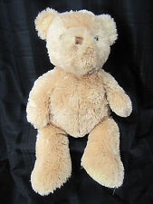 "CARTERS BIG HUGE JUMBO GIANT STUFFED PLUSH TEDDY BEAR BROWN TAN BEIGE 21"" SOFT"