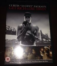Get Rich Or Die Tryin' (DVD, 2006) In In Good Condition 50 Cent