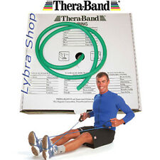 TheraBand TUBO ELASTICO pilates VERDE resistente 2,5Mt tubing  Thera-Band
