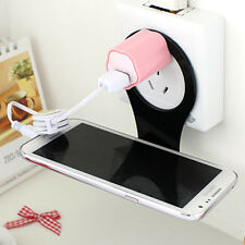 Foldable Charge Charging Wall Holder Shelf Stand Cradle F Mobile Cell Phone MP3