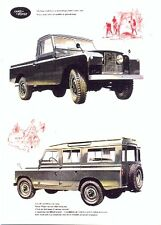 "Land Rover Series II 109"" - Modern postcard by Vintage Ad Gallery"