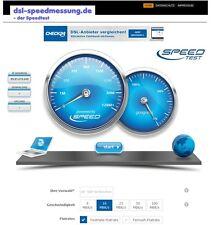 Webprojekt | dsl-speedmessung.de |  Geld verdienen | kostenloser Speed Test