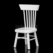 1:12 Scale Wood Chair Dollhouse Miniature Garden Kitchen Furniture Accessory