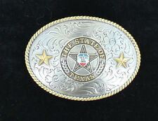 DON'T MESS WITH TEXAS - Est. 1845 ~ Western Belt Buckle ~ Silver Brass 37372