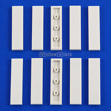 10x LEGO® 1x4 Fliese 2431 weiß white tile 243101