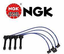 Honda Civic Crx NGK Blue OEM Spark Plug Wire Set HE53 Made In Japan