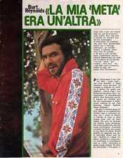 Ga4  Clipping-Ritaglio 1975 Burt Reynolds ...la mia metà era un'altra