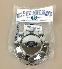 2008 2009 2010 Ford F250 F350 Super Duty REAR Chrome 8-LUG WHEEL Hub CAP new OEM