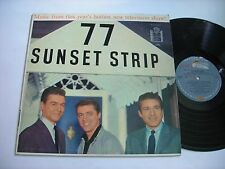 Music from 77 Sunset Strip 1959 Mono LP VG+
