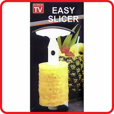 FRUIT PINEAPPLE SLICER -CORER -CUTTER-PEELER -CORKSCREW-KITCHEN EASY TOOL KIT