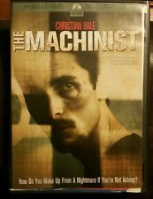 The Machinist DVD Movie 2004 Widescreen Collection Christian Bale Jennifer Jason