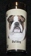 English Bulldog Dog Stainless Steel Insulated Travel Tumbler Thermos