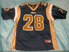 St. Louis Los Angeles Rams Marshall Faulk Jersey Youth Size Large Nike