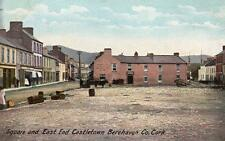 Square East End Castletown Berehaven Co Cork unused old pc W Lawrence