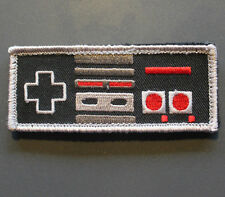 """Conrtoller Patch - 3.5"""" x 1.5"""" with Hook & Loop backing - retro gaming 8 bit"""