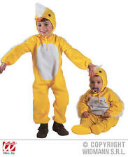 Childrens Yellow Chicken Chick Fancy Dress Costume 2-3 Yrs Outfit