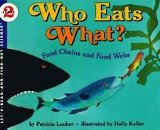 Who Eats What? Food Chains and Food Webs (Let's-Read-and-Find-Out Scie-ExLibrary