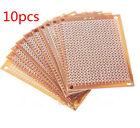 10pcs DIY Prototype Paper PCB Universal Experiment Matrix Circuit Board 5x7cm W8