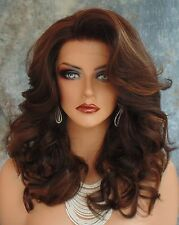 LACE FRONT WIG HEAT FRIENDLY GORGEOUS SEXY BOUNCY CURLS FS4.27 US SELLER CC285