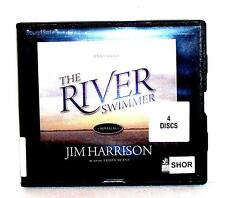 BOOK/AUDIOBOOK CD Jim Harrison Fiction Novel THE RIVER SWIMMER