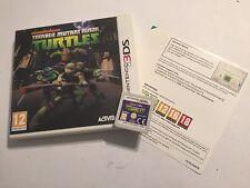 NINTENDO 2DS N2DS 3DS N3DS GAME TEENAGE MUTANT NINJA TURTLES TMNT +BOX PAL