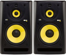 KRK RP103G3 3-Way Studio Monitors, PAIR BRAND NEW MID-FIELD AND LOUD  Gen. 3