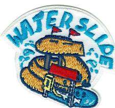 Girl Boy Cub WATER SLIDE DAY Fun Patches Crests Badges SCOUT GUIDES Visit PARK