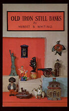 1968 POSTCARD, THE WHITING OLD IRON STILL BANK BOOK, TO SELL BOOKS, *SALE* PC477
