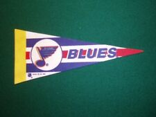 NHL ST LOUIS BLUES VINTAGE STYLE MINI PENNANT, NEW & MADE IN USA