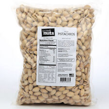 3.75 lbs Salted Pistachios by Fast Fresh Nuts dry roasted bulk snack shell bag