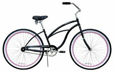 "NEW 26"" Women Beach Cruiser Bicycle Bike Firmstrong Urban Black"