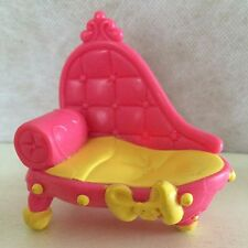 Littlest Pet Shop Chaise chair lounge bed - USA seller