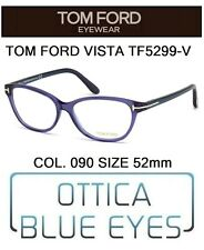 Occhiali da Vista TOM FORD TF5299V 090 52mm eyeglasses brillen  FT CAT EYE ITALY