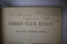 1872 Signed SIR HERCULES ROBINSON Governor Hong Kong CEYLON New South Wales FIJI
