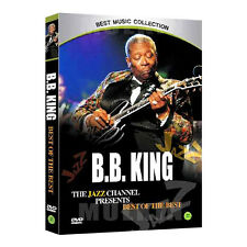 B.B.KING - The Jazz Channel Presents, Best of The Best DVD (*Sealed *All Region)