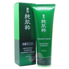 KOSE MEDICATED JUNKISUI WASHING CREAM 120g