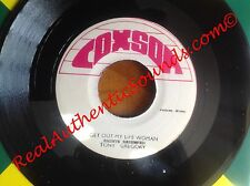Coxsone - Get Out My Life Woman / Sugar Cane - Tony Gregory / The Soul Bros