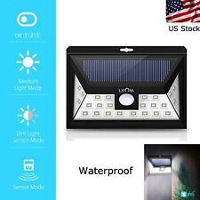 Litom 24 LED Solar Light Super Bright Waterproof Outdoor Motion Sensor Light New