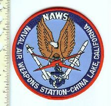 Military  Patch - USN  NAWS  Weapons Station China Lake