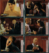 SMALLVILLE SEASON 2 COMPLETE SET OF 6 TILL DEATH DO US PART CARDS DP1-DP6