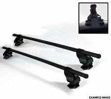 2x Oval Roof Bars with Mounts - For Ladders Bike Ski mounts etc By SIEPA - F33