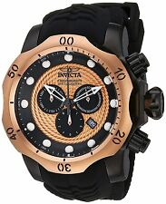 20445 Invicta 52mm Mens Venom Sea Dragon Quartz Chronograph Silicone Strap Watch