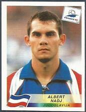 PANINI WORLD CUP FRANCE 1998- #401-JUGOSLAVIJA-YUGOSLAVIA-ALBERT NADJ