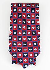 PFIZER PRO Viagra Blue Pills RED & BLUE CHECKERED 100% SILK NECKTIE TIE