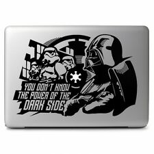 Star Wars Darth Vader for Apple Macbook Air/Pro Laptop Vinyl Decal Sticker Skin