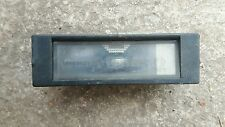 ALFA ROMEO 156 SPORTWAGON REAR NUMBER PLATE LIGHT UNIT AND BULB 46408006