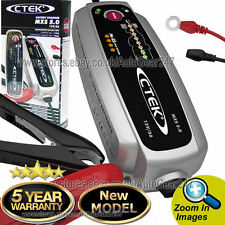 CTEK MXS 5.0 12v Car Bike Caravan Smart 8 Step Fully Automatic Battery Charger