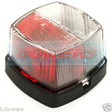 HELLA 883 RED & WHITE SQUARE SIDE MARKER LIGHT/LAMP SWIFT STERLING CARAVAN
