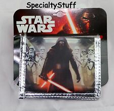 "NEW DISNEY STAR WARS ""7"" ONE (1) NON-WOVEN WALLET BIFOLD BILLFOLD TODDLER (TO)"